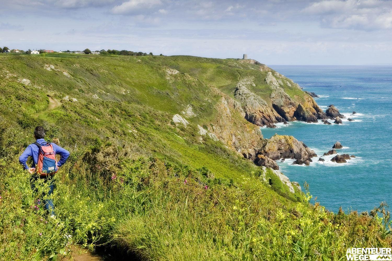 Jersey Küstenpfade