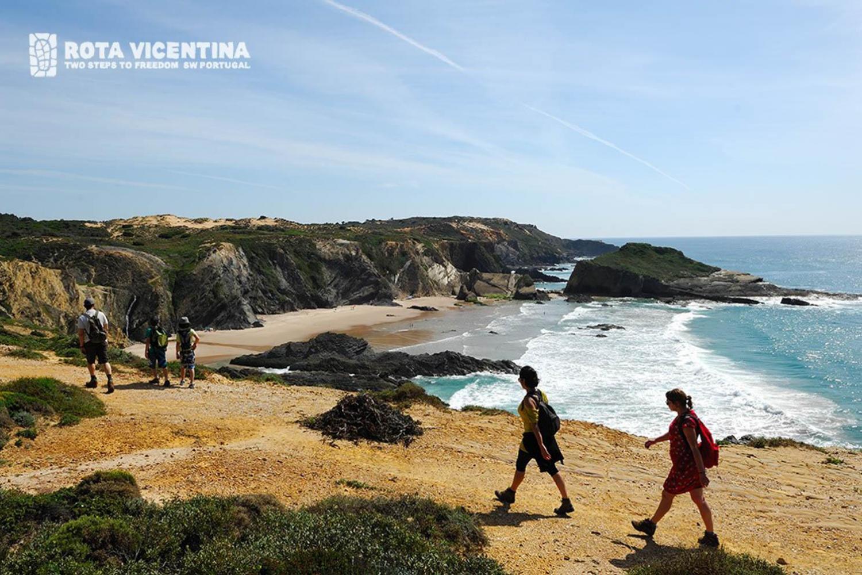 Wandern auf der Rota Vicentina entlang der Alentejo Küste