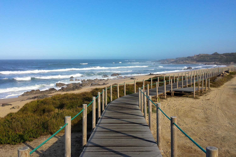 Portugiesischer Küsten Jakobsweg: Holzbohlenwege