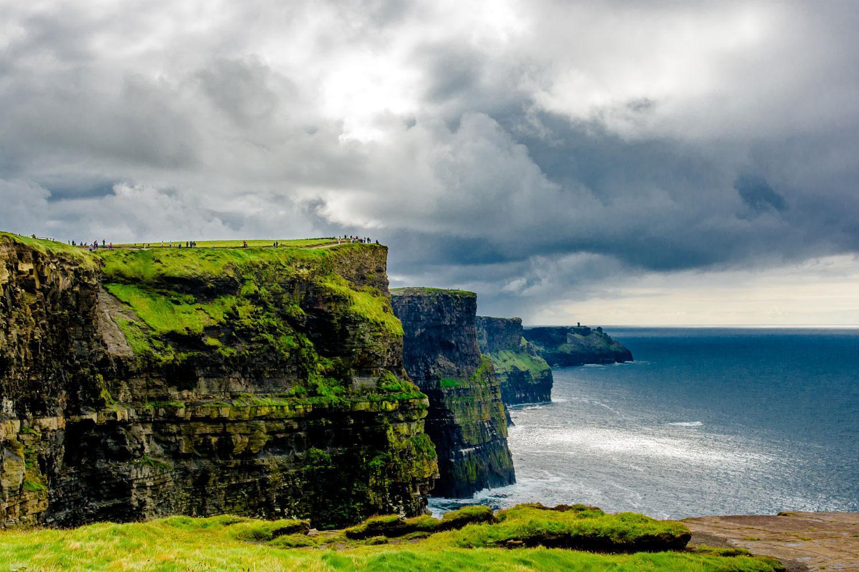 Irland Cliffs Of Moher Karte.Burren Way Cliffs Of Moher Aran Islands Abenteuerwege