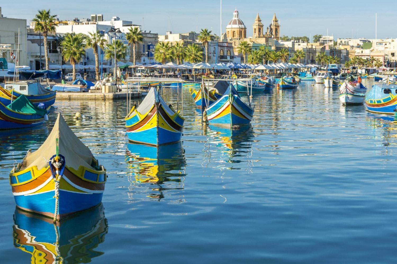 Wandern auf Malta, Gozo & Comino: Hafen Valletta