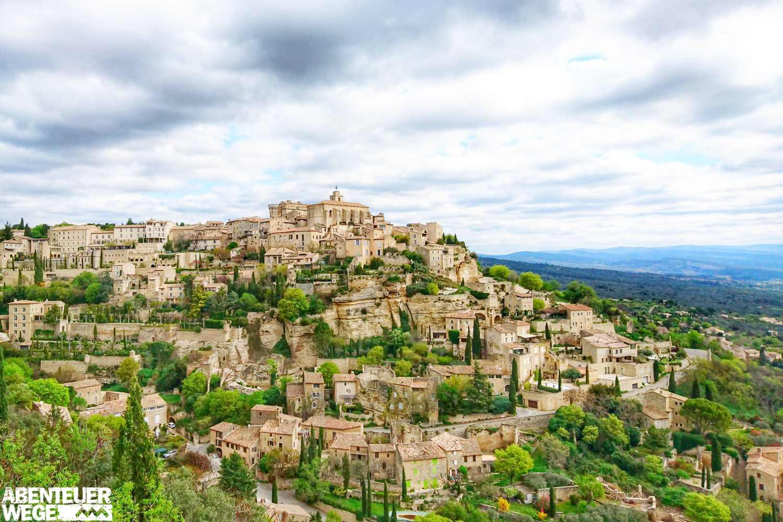 Radtour im Herzen der Provence im Naturpark Luberon