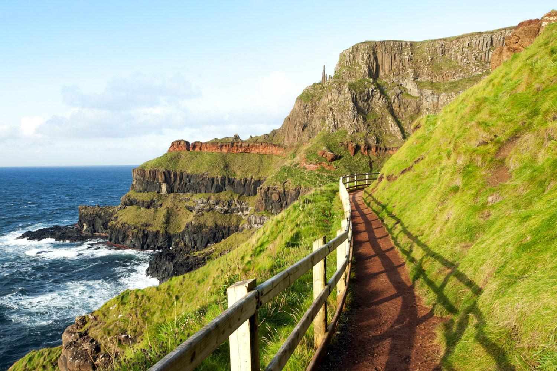 Nordirland: Küstenweg am Giant's Causeway