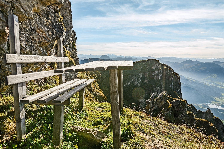 Kitzbüheler Alpen: Luftiger Ausblick am KAT Walk ©Vonier Peter