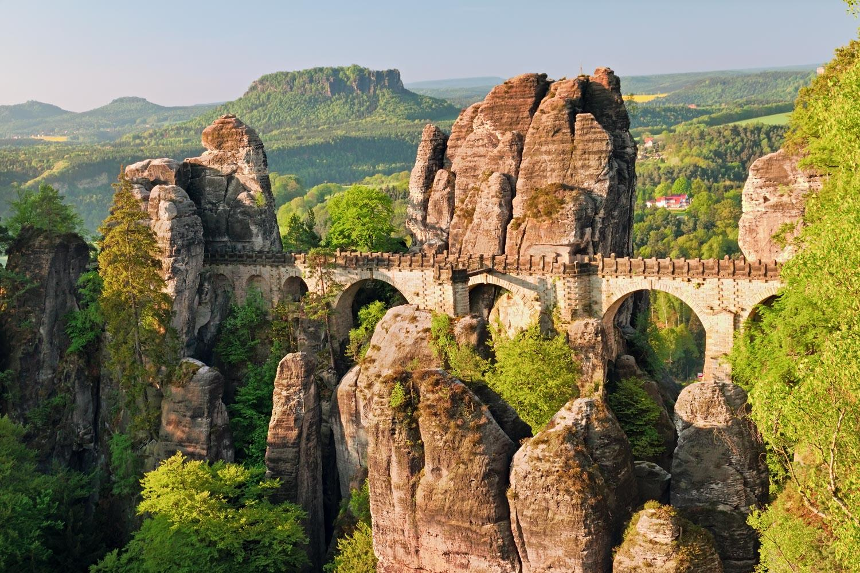Wandern Sie in der Sächsischen Schweiz auf dem Malerweg