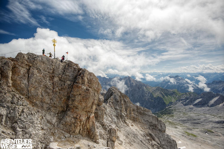 Wie wäre es mit einem Ausflug auf die Zugspitze (nicht inklusive)
