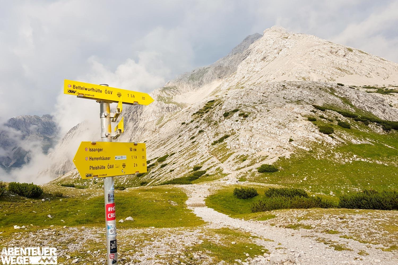 Karwendel-Garmisch-Innsbruck: Am Lafatscherjoch