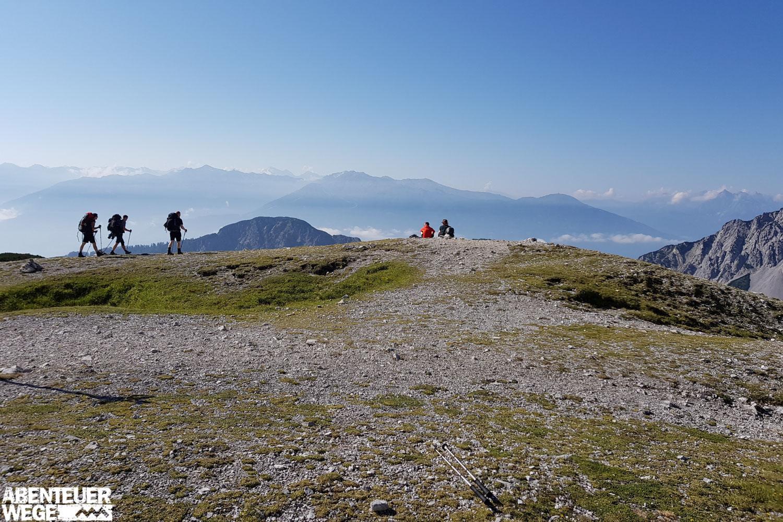 Garmisch-Sterzing: Alpenüberquerung