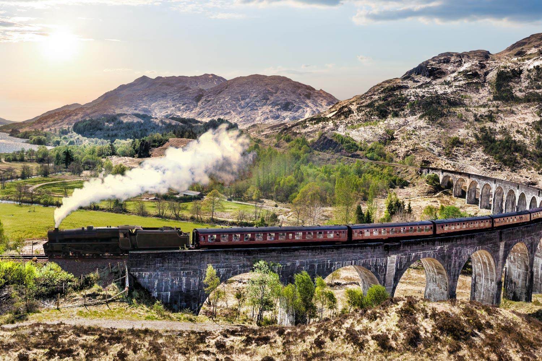 Best of Schottland - Rail & Hike