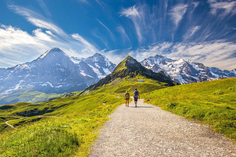 Wandern am Eiger, Mönch und Jungfrau