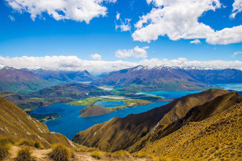 Best of Neuseeland: Blick von Roy's Peak, Wanaka