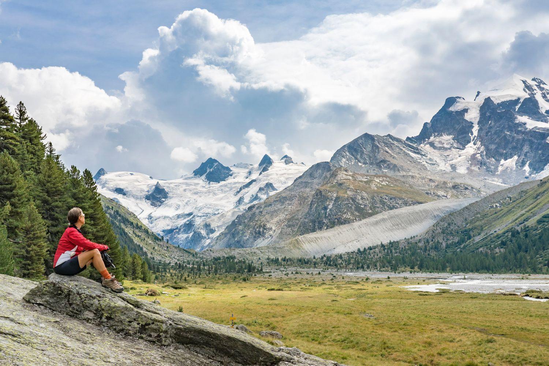 Schweiz: Engadin & St. Moritz: Das Val Roseg