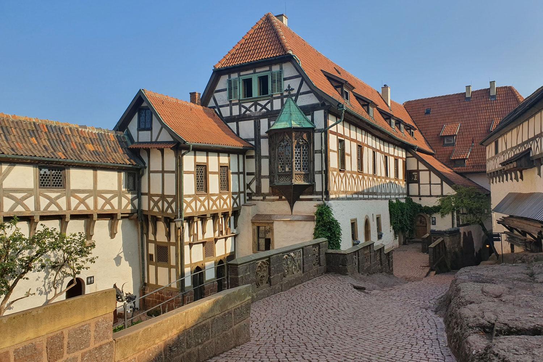 Der Rennsteig von Oberhof nach Eisenach - Die Wartburg