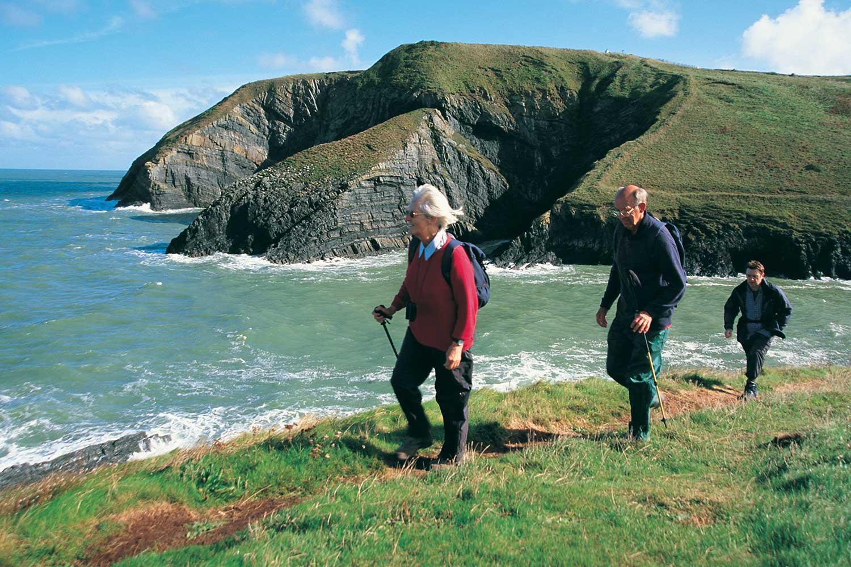 Pembrokeshire Küstenpfad - Die Mitte