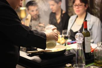 Home cooking at the Chef's in Barcelona - What better way to learn about Spanish food than by cooking at a local chef´s home in Barcelona