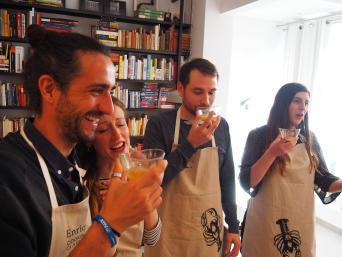 Home cooking at the Chef's in Barcelona - Make new friends while learning to cook with a local chef in Barcelona