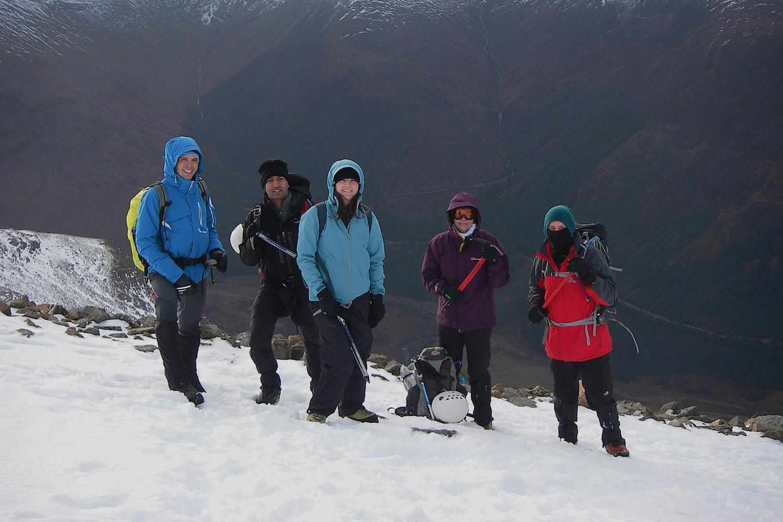 Climb Ben Nevis (Winter Ascent)