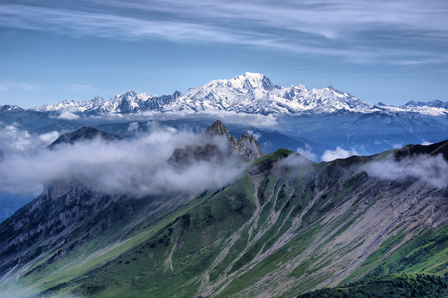 Mont Blanc Ascent